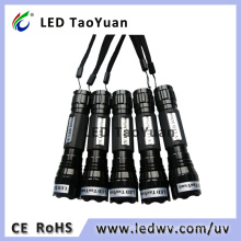 UV Light Flashlight Uses 3W