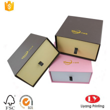 Luxury drawer cardboard gift box for wallet