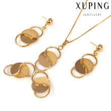 60984 - Xuping Jewelry fashion 18k gold plated two pieces jewelery set
