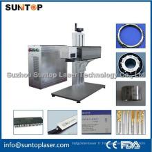 Machine de marquage laser à fibre métallique et non métallique / Machine d'impression laser
