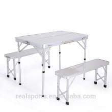 Niceway usado mesa de piquenique e cadeiras para venda dobrável de alumínio conjunto de cadeira de mesa de piquenique