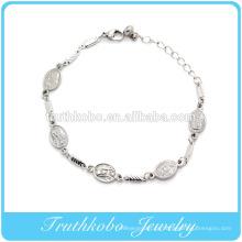 virgem mary pulseira jóias para presente