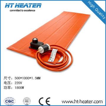 Réchauffeurs en caoutchouc de silicone (bobiné)