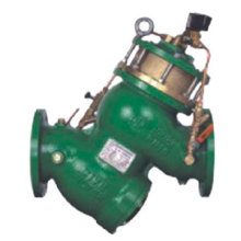 Vanne de contrôle électromagnétique à piston à filtre (GL98006)