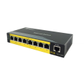 Unmanagement Fast Ethernet POE Switch 8 poorten