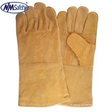 NMSAFETY haute qualité, sécurité, bas prix, gants de soudage tig