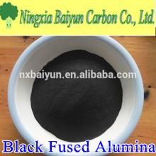 Fabrik-Versorgung 120mesh schwarz verschmolzen Aluminiumoxid-Pulver zum Schleifen und Polieren