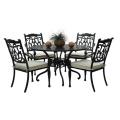 Cast Aluminium Wicker Rattan Garden Patio Outdoor Furniture