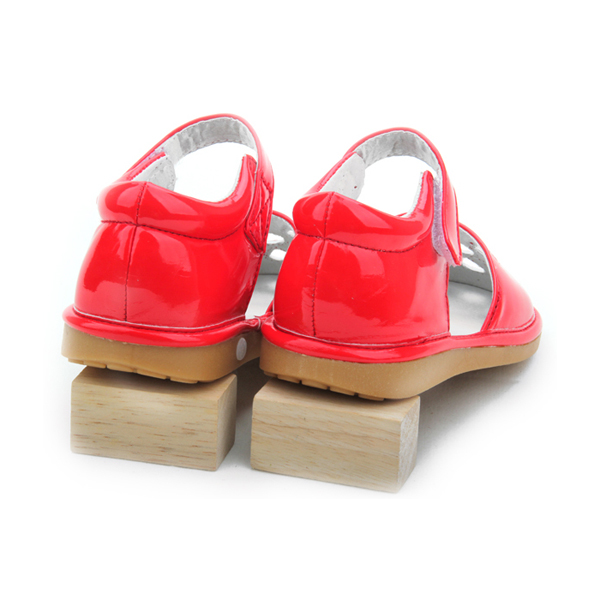 Fashion Style Flat Baby Girls Toddler Squeaky Shoes