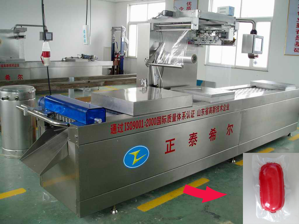 Chicken Meat Automatic Vacuum Packing Machine