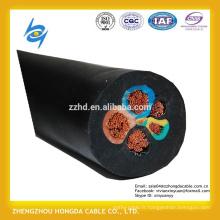 Câbles flexibles de gaine en caoutchouc de H07RN-F Multicore avec la CEI 60245