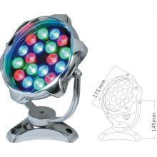 Lámpara LED subacuática con forma redonda 36W LED