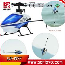 Gran entorno sin escobillas! WL V977 más nuevo Power Star X1 3D a su vez 6G 6CH 2.4G RC Pro helicóptero sin escobillas Motor RC helicóptero juguetes