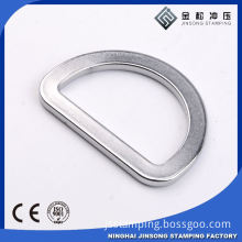 Wholesale High Quality Metal Nickle Color Triangle Ring For Sale