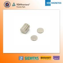 Imán de neodimio N42 D10 * 1.5mm
