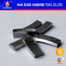 Segments de diamant pour les segments de type V