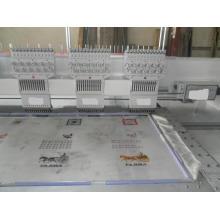 6 cabezales plana máquina de bordar (área de bordado de 400 * 680 m m)