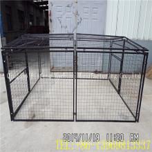 Cage d'animal familier fait sur commande d'affichage galvanisé par boîte de lien en gros de chaîne de Moqs bas