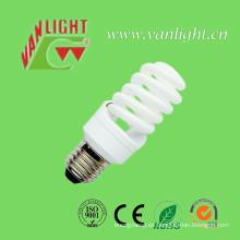 Forma espiral completo serie T2 15W CFL lámpara (VLC-FST2-15W-E27)