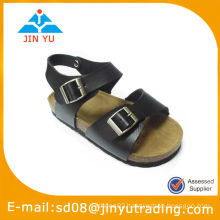 High quality child crok leaher sandal
