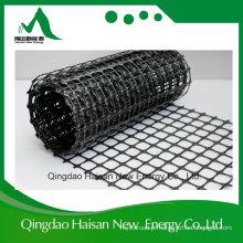 Preço plástico Uniaxial forte Biaxial elástico de Geogrid dos PP 25kn-600kn