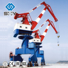 Harbour Pedestal Crane Rotating 360 Degree