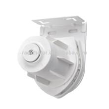 Roller blind clutch for heavy duty roller blind system