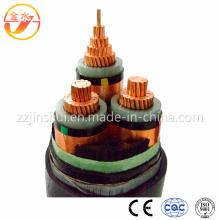 Огнестойкий / ПВХ / XLPE / PV изолированный силовой кабель