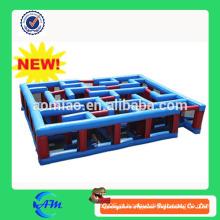 Labirinto inflável personalizado novo do labirinto do projeto para a venda