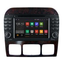 Android 5.1 / 1.6 GHz coche DVD GPS de navegación para Benz S / SL reproductor de DVD con conexión WiFi