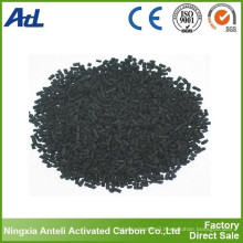 impregnated Sulphur columnar Activated Carbon for Remove Mercury (Hg)