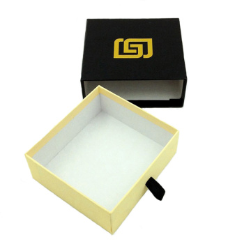 China Gold Supplier for Paper Gift Box Black Sliding Rigid Gift Box supply to Portugal Importers
