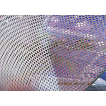 Perforated One Way Vision Window Perf Sticker