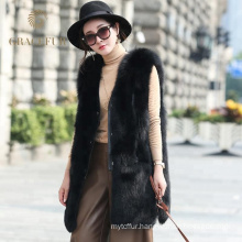 Best selling women fox fur vest for sale buy online