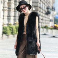 Best selling mulheres colete de pele de raposa para venda comprar on-line