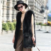 Лучшие продажи женщин Лисий мех жилет для продажи купить онлайн