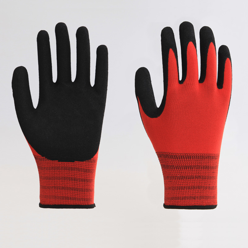 Polyester PU Labor Gloves