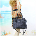 Novelty PU Women Tote with Removable Pouch