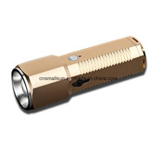 Touch Control Switch Aluminum Flashlight