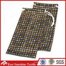 Logo Print Microfiber Sunglasses Case Pouch,Fabric Sunglass Case