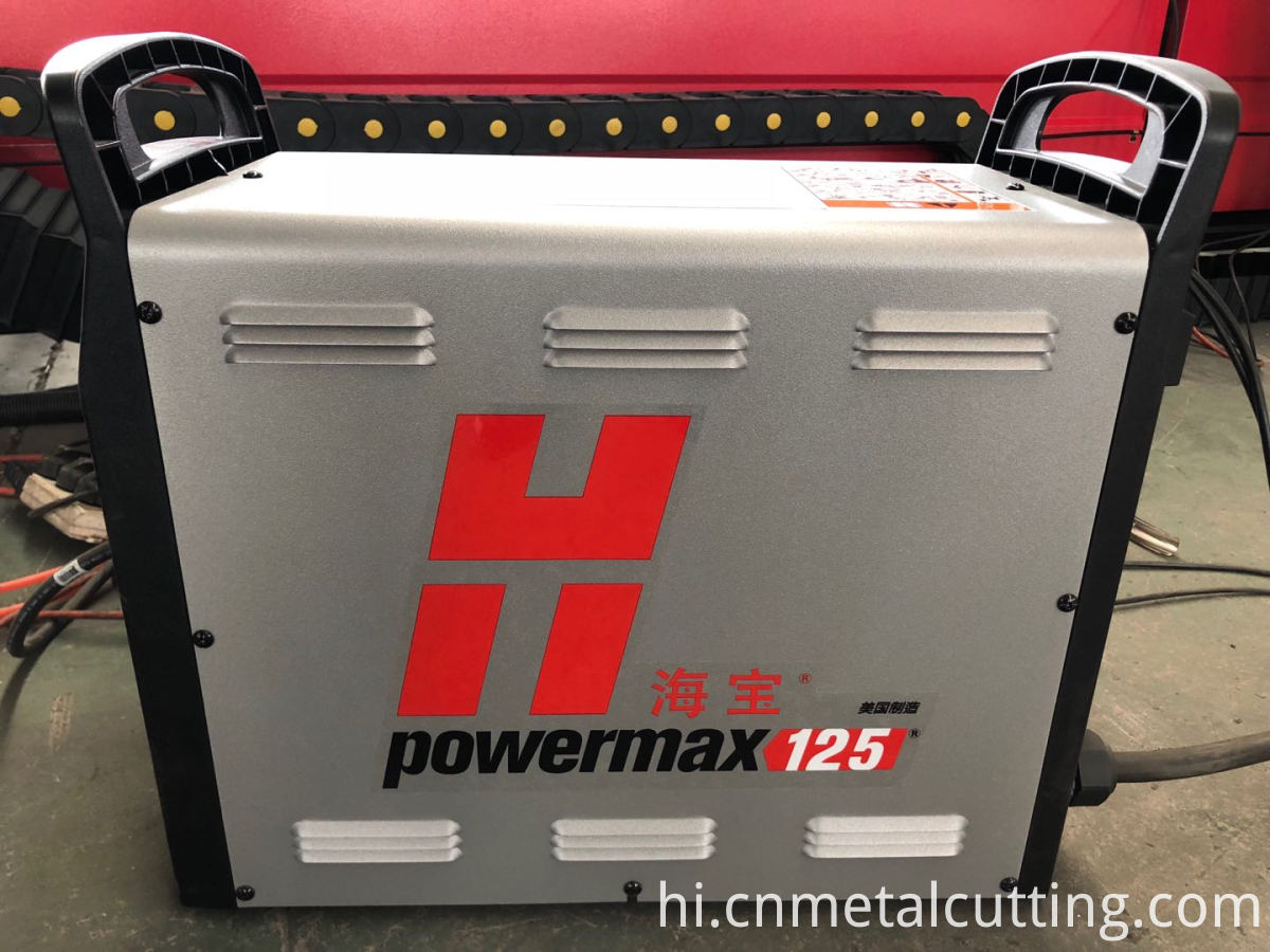 hypertherm 125 plasma cutting