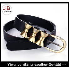 New Fashion Line PU Belt with High Quality for Women