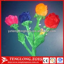 Красивая цветочная игрушка реалистичный плюшевый цветок для украшения
