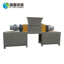 Triturador de eixo duplo para moagem de plástico residual