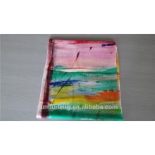 Herstellung Handmalerei reine Kaschmir Schal aus China