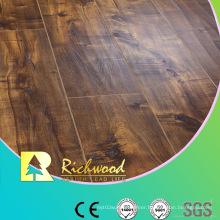 Household 8.3mm E1 HDF Embossed Oak V-Grooved Waterproof Laminate Floor