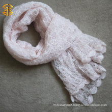 Winter and Fall Fashionable Hand-knitted Plain Scarf