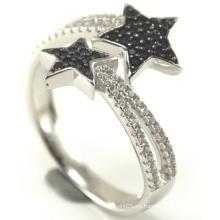 2015 más nuevo anillo de la joyería de la plata esterlina de la manera 925 (R10294)