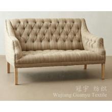Le lin aime le tissu de lin textile de maison avec le soutien pour le sofa