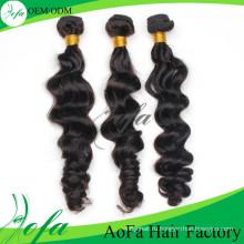 Объемная волна 5А\6А\7А Реми бразильского Виргинские волос weave человеческих волос расширения